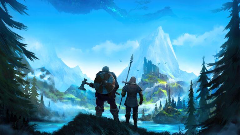 Игра выживалка о викингах Valheim